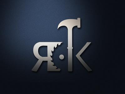 RK Hardware | Logo Design ui design app ui business branding design brand identity brand design brand lettering logos logodesign logotype logo design logo vector design branding flat design minimal flat