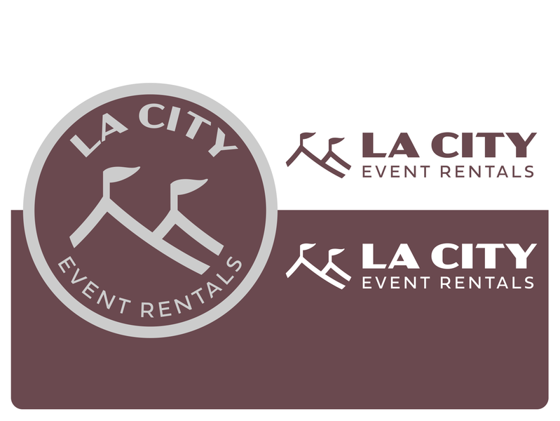 Event Rental Logos logo design branding logo