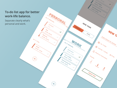 To-do list app for better work-life balance