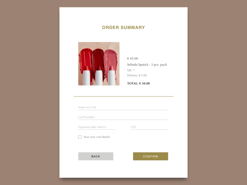 Credit Card Checkout page (iPad) sketch checkout page webshop ipad design ui 2020 dailyui