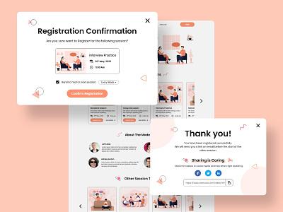 Stamurai Website Design thank you register login stamurai web design product design website design website typography branding ui ux design