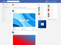 Facebook Material Design   Redesign Concept