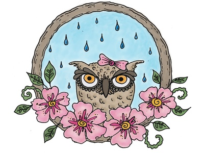 owl i need is a rainy day