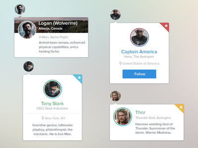Profile Hover Cards