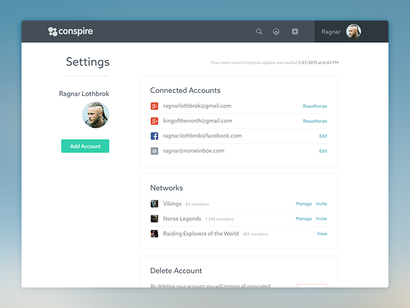 Settings settings account user interface ui minimal user account