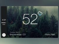 Carplay weather