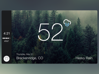 CarPlay Weather