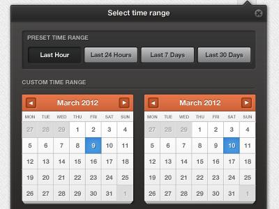 Dual calendars