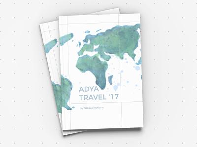 Adya Travel'17 clothing travel urban rajasthan publication design publication print lookbook jaipur india design brochure
