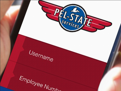 Pelstate Login Screen