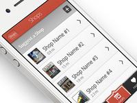 iPhone App Design Alternate