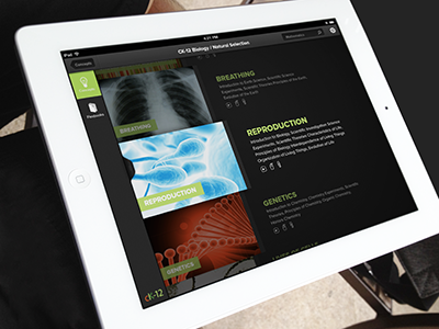 CK-12 iPad Browser