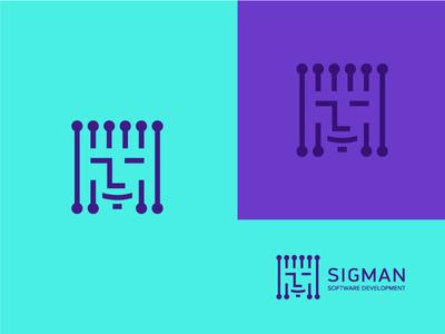 Logo for Sigman.