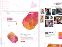 Softway Creative landing page