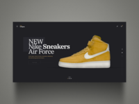 f186507b95c8 Nike Sneaker shoes landing page