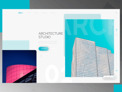 Arch landing page