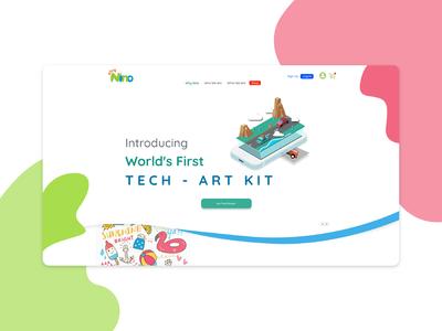 Play Nino Website Concept