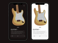 INSTRUMENTS LEARNING APP UI