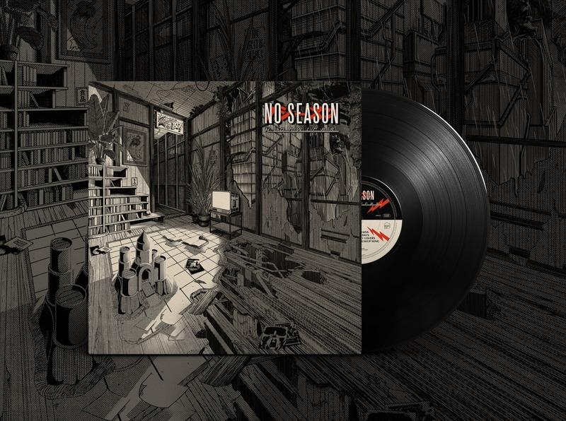 "No Season - ""Highwires"" Vinyl vinyl cover vinyl cover artwork cover design no season rock album cover artwork cover retro design japan graphic japanese design vintage retro paihemestudio paiheme illustration"