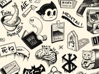 Paiheme スタジオ Tattoos 1
