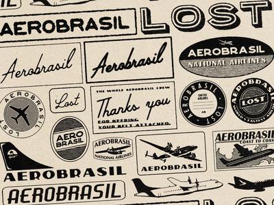 AEROBRASIL  LOST - LOGOS !