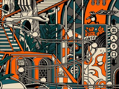 Eddie Vedder Concert Poster ! glen hansard screenprint poster design poster art poster eddie vedder retro design japan graphic japanese design graphic art vintage retro paihemestudio paiheme illustration