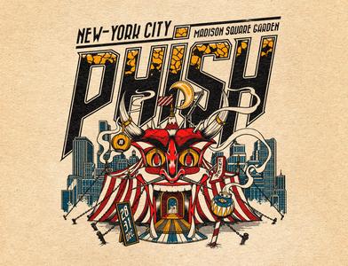 Phish T-shirt design