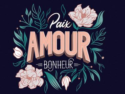 Paix, Amour, Bonheur