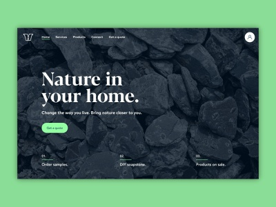 VS Soapstone website web minimal design