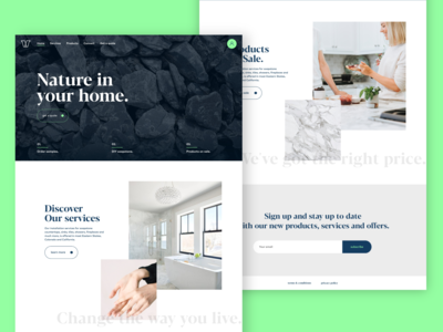 VS Stones Website Design