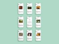 Instagram design - Ceylon & A City
