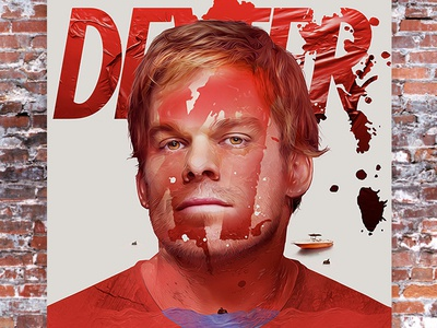 Funkrush Poster - Dexter