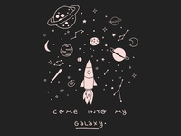 Come into my galaxy
