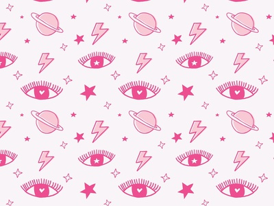 Cosmic Girl creative market doodle pink drawing love design character cute art vector artwork vector ilustracion illustrator cartoon ilustración graphic design illustration art illustration girly pattern