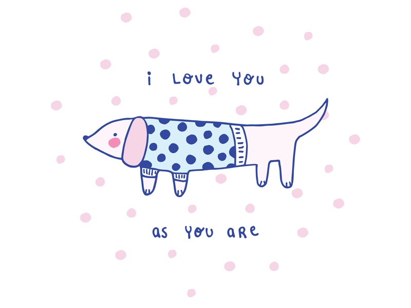 As you are pattern cartoon character doodle colourful vector artwork vector illustrator love pink logo drawing character cute art cartoon ilustración graphic design stationery design illustration art illustration