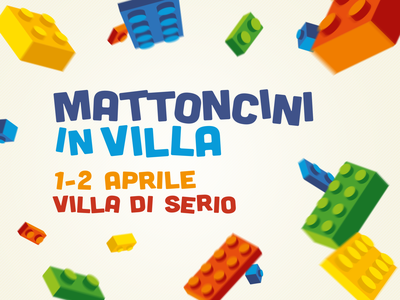 Mattoncini in Villa - LEGO® Exhibition bergamo exhibition exposition bricks colorful explosion lettering lego bricks lego