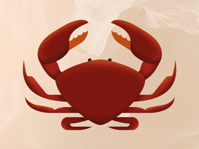 ♋︎ Cancer - 12 Signs x 12 Beers red packaging astrology horoscope beer label design label design crab zodiac sign cancer