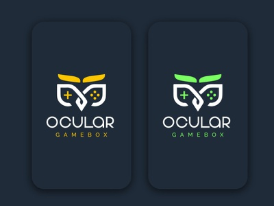 (OCULAR) Modern logo design. logodesign gaminglogo logo design graphic design logo brand identity design business logo logo graphic  design