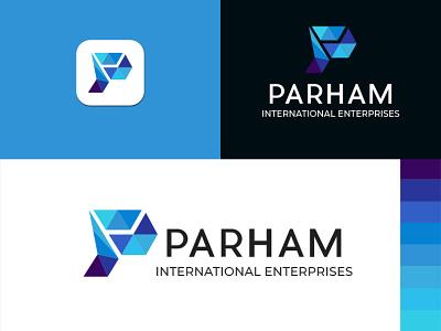 Alphabet P letter modern logo design typography alphabet logo logo design brand identity design graphic design logo logo business logo graphic  design custom branding