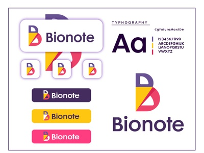 B letter logo (Bionote Logo brand) branding graphic design logo brand identity design business logo logo identity logoidea logo identity monogram logo app logo letter b letter b logo graphic  design logo marks abstract brand identity designer logo mark brand identity