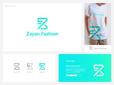 Zayan Fashion modern logo design. logo design logo design branding brand identity design graphic design logo business logo graphic  design zayanfashion minimallogo logonew logoart logomaker logocreator logoroom logomodern logodesign
