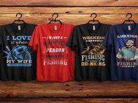 custom bulk fishing t shirt designs2