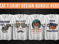 cat t shirt design