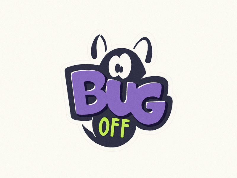 Bug 🕷Stickers fruitstickers lettering stickers halloween character 2d illustration
