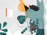 Hackathon homepage illustration