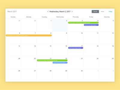 Recurring Events Calendar 2