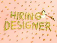 Hiring Designer in Toronto!