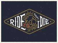 Ride till I ☠️