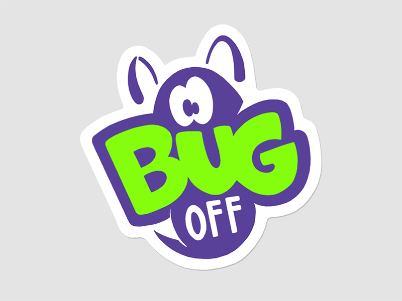 Sorry to bug you... 2d character 90s oldschool sticker stickerset bug typography lettering