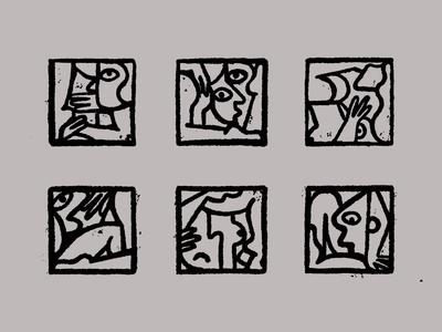 Cubist Yoga
